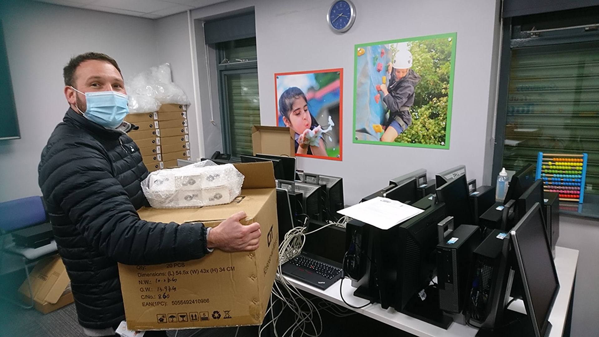 RecyleIT Donate Desktops to Families in Need with Impact Gamers